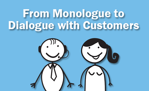 Moving from monologue to dialogue with customers   Eptica - Multi